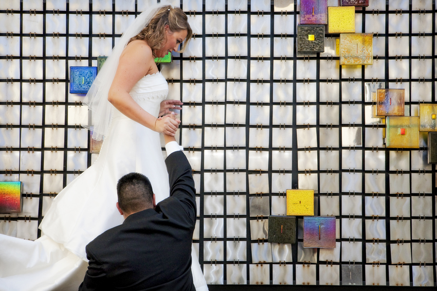 Cherry Creek Denver, CO Wedding Photography for Jacqulyn and Michael © Marni Mattner