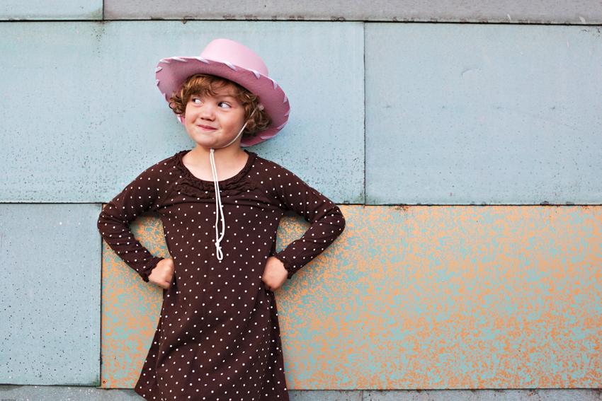 Mischievous Kyra in her Child Portrait Photo Shoot in Denver © Marni Mattner Photography