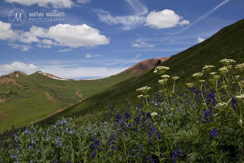 West Maroon Pass Landscape © Marni Mattner Photography