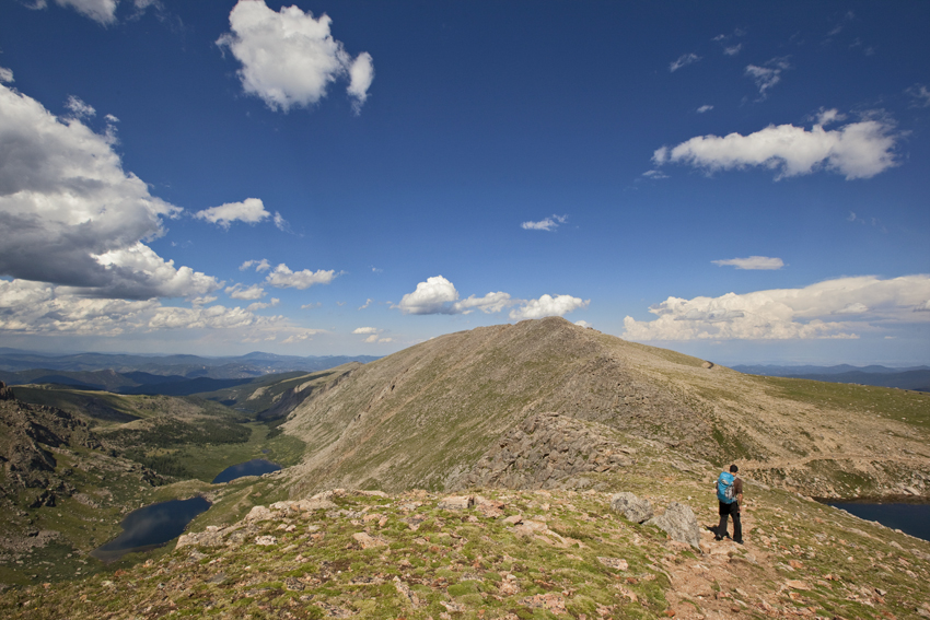 Mt. Evans near Summit Lake, Fourteener in the CO Rockies  Marni Mattner Photography