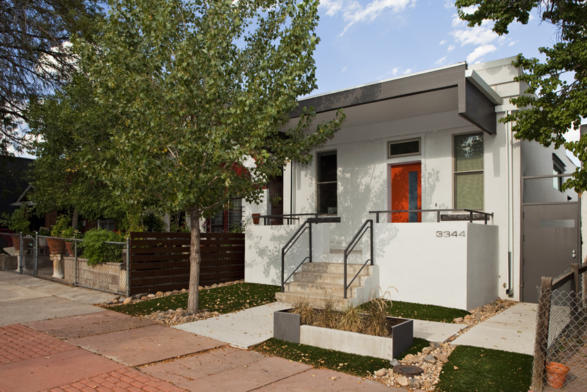 Denver Architecture Residential Exterior © Marni Mattner Photography