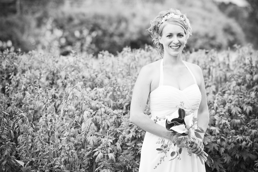 The Bride, Erica, at Flying Dog Ranch © Marni Mattner Photography