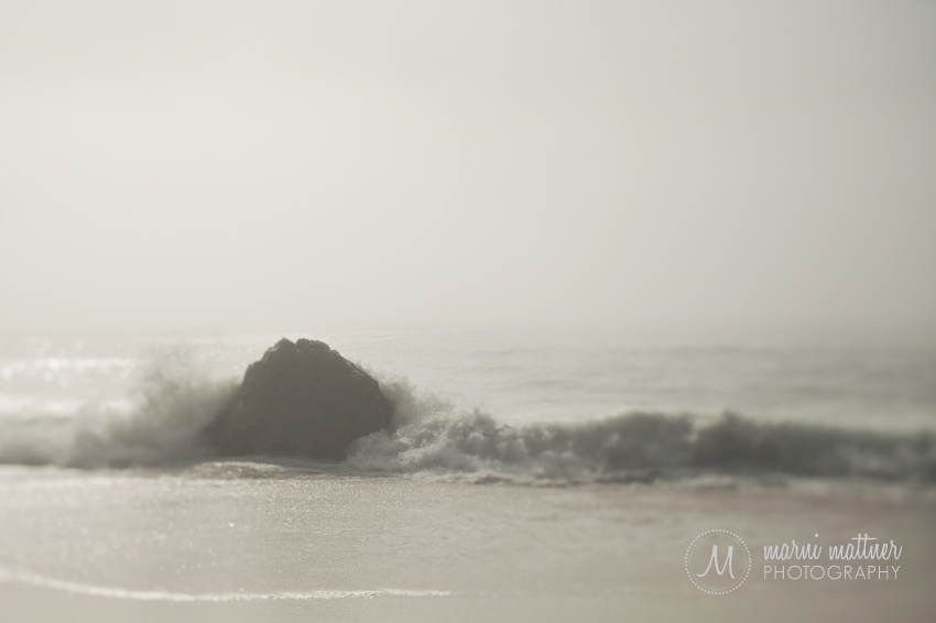 Pacific Ocean Near Big Sur, Perfect for Mason Jennings' California © Marni Mattner Photography