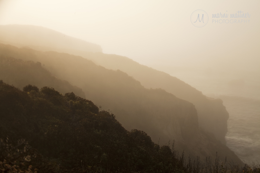 Hills of Garrapata State Park in California South of Carmel, CA © Marni Mattner Photography