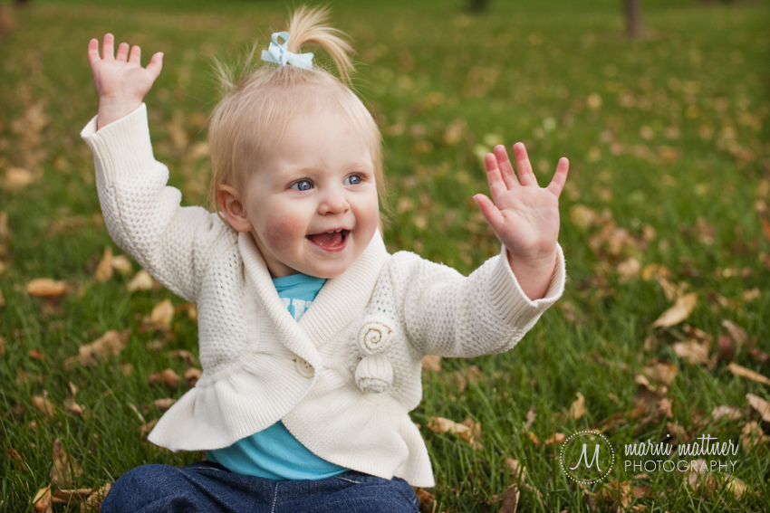 Isabelle's 1-Year Portraits © Marni Mattner Photography
