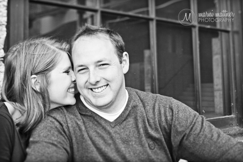 Mill Ruins Park Engagement Photos with Liz &amp; Dave  Marni Mattner Photography