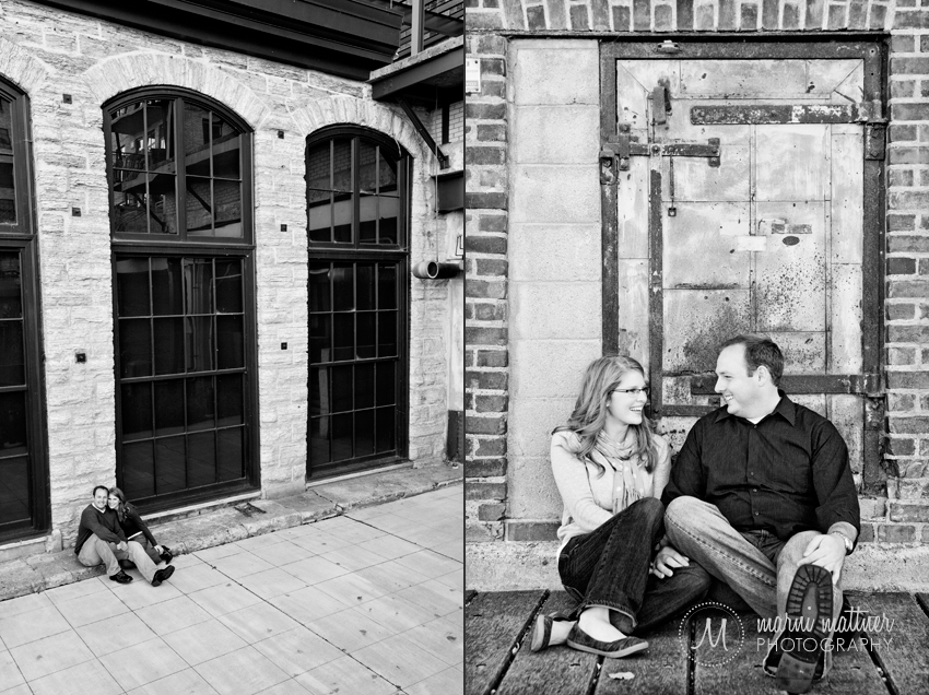 Minneapolis, MN Engagement Photos of Liz &amp; Dave  Marni Mattner Photography