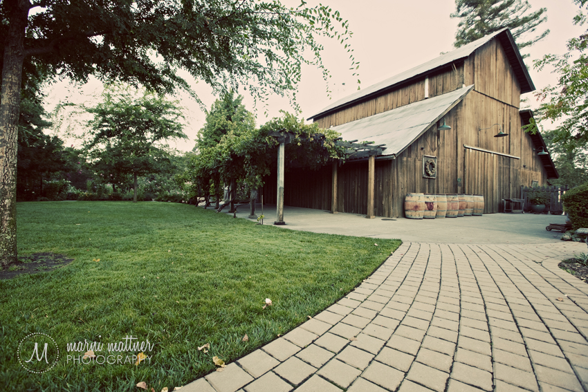 Healdsburg Country Gardens Barn Wedding the Russian River Valley © Marni Mattner Photography