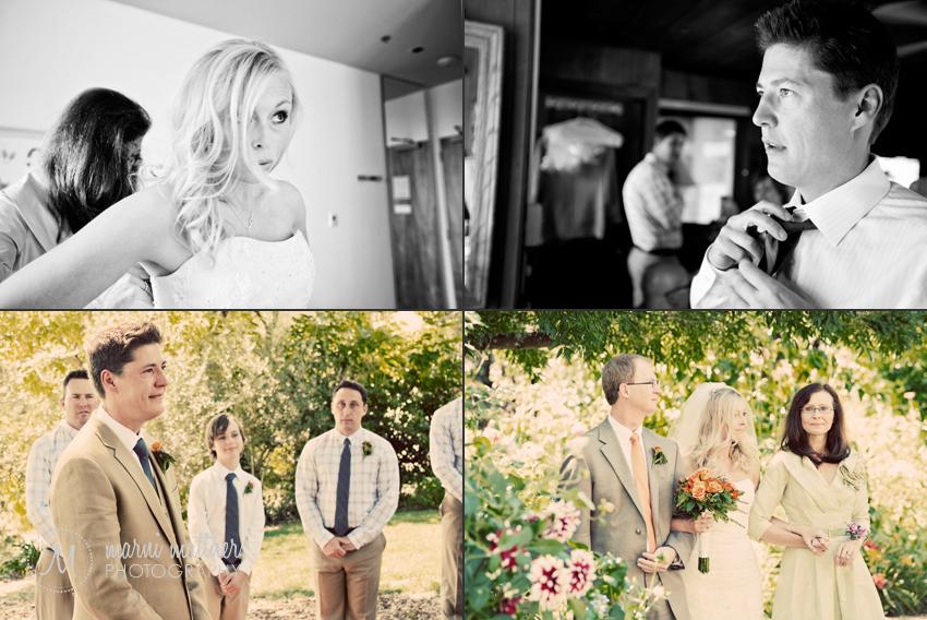Ryan And Deirdra Before The Wedding at California's Healdsburg Country Gardens © Marni Mattner Photography