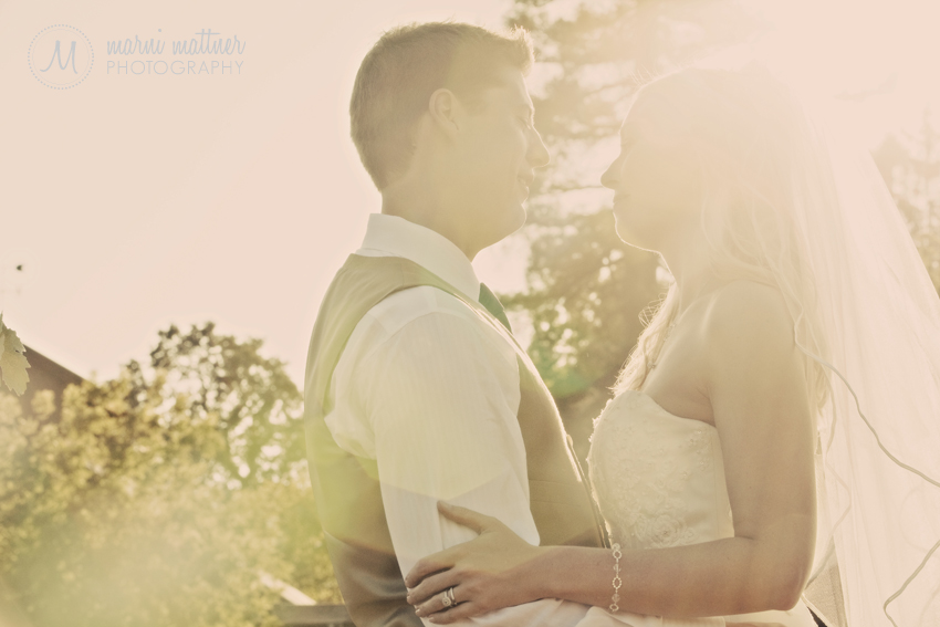 Ryan And Deirdra, Groom And Bride!  Marni Mattner Photography