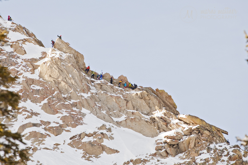 Mountaineering on the Guides Ridge in Crested Butte, CO © Marni Mattner Photography