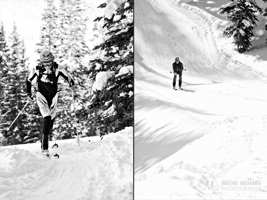North American Ski Championships Downhill Racing © Marni Mattner Photography