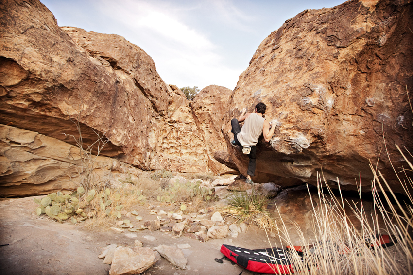 Hueco Tanks, TX Bouldering  Marni Mattner Photography