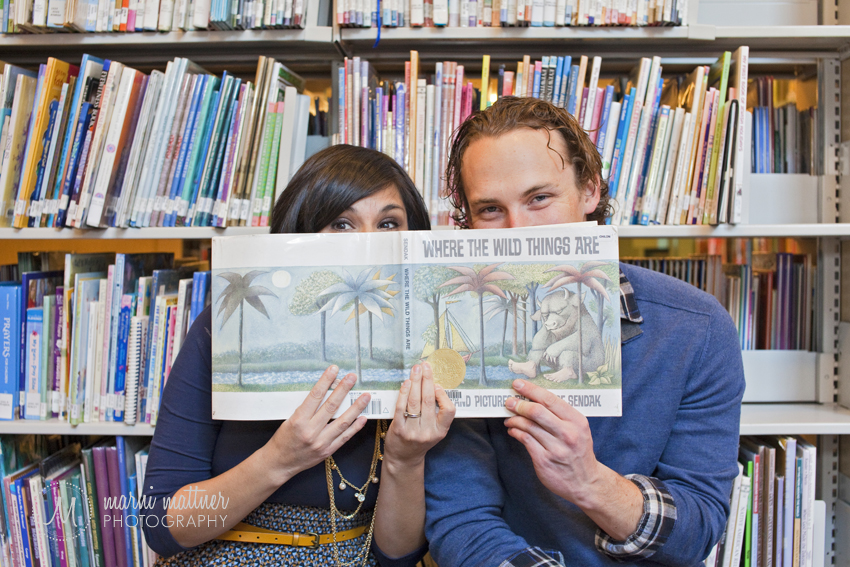 Jeanne & Jayme Family Portraits At Denver's Library © Marni Mattner Photography