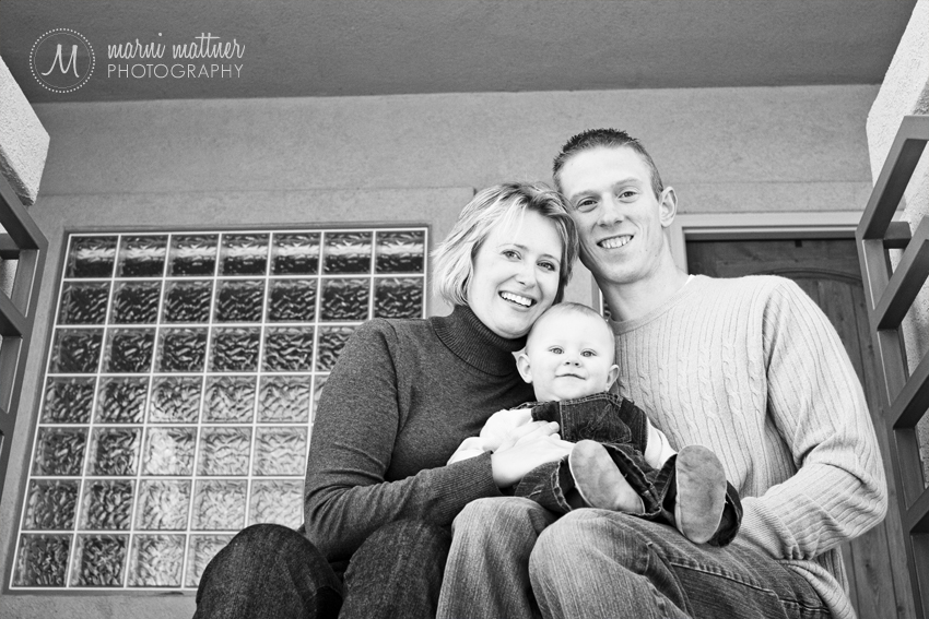 Leah, Scott and Logan in Colorado © Marni Mattner Photography