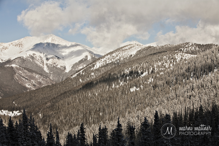 View from Monarch Pass  Marni Mattner Photography
