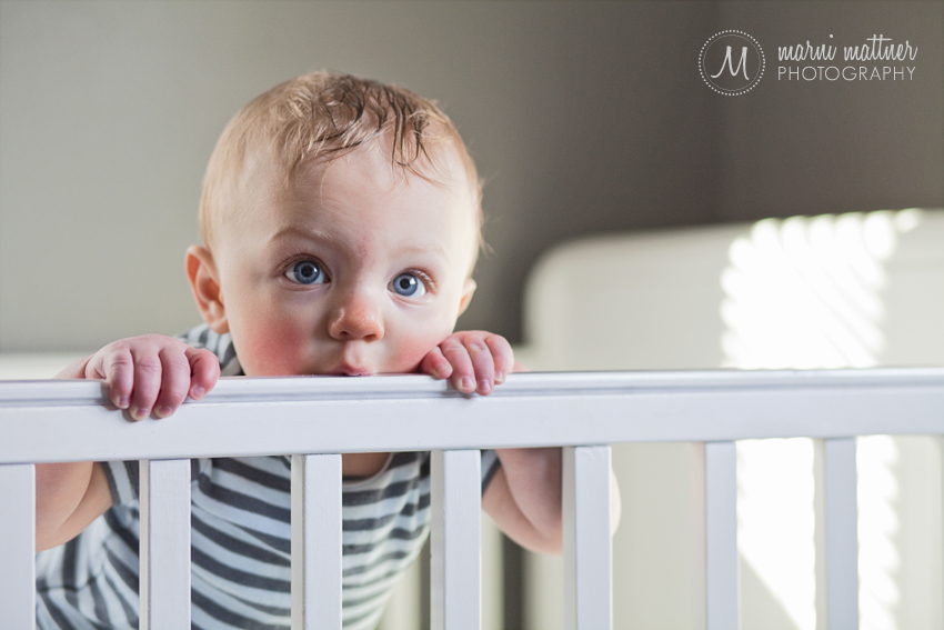Rowan's 6-Month Portraits in Grand Junction, CO © Marni Mattner Photography