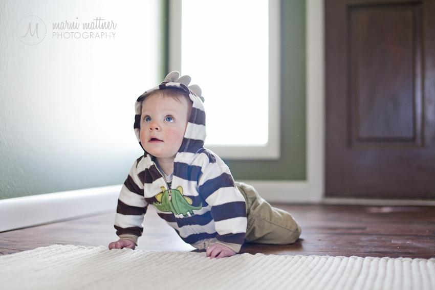 Rowan Is Learning To Crawl! © Marni Mattner Photography