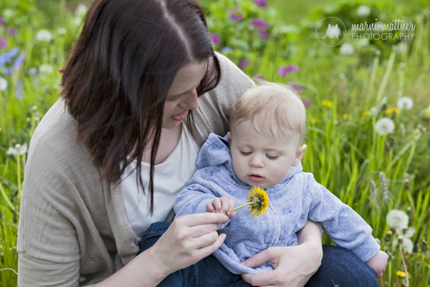 Liz & Theo's Mother-Son Portraits in Portland, Oregon © Marni Mattner Photography