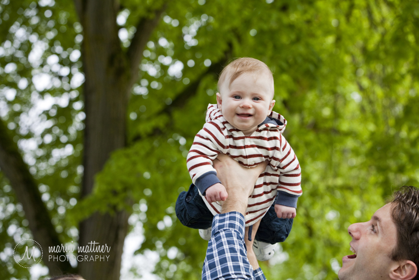 Tony & Theo's Father-Son Portraits in Portland, Oregon © Marni Mattner Photography