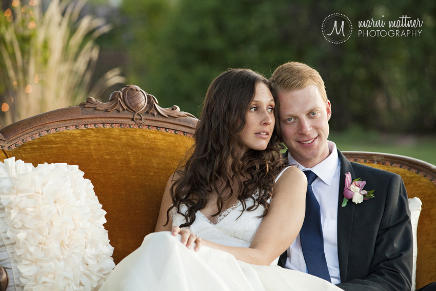 Andrea and Steve at the Manor House for their Wedding in Colorado © Marni Mattner Photography