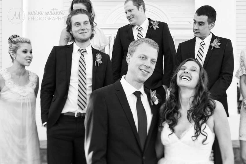 Wedding Party at Mansion the Manor House © Marni Mattner Photography