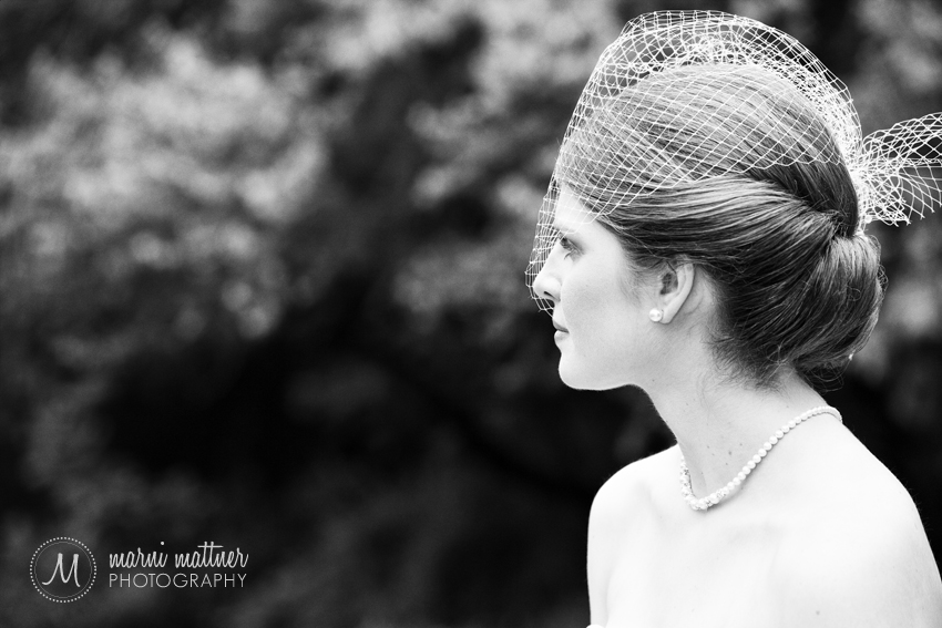 Bridal portrait of Liz in Stillwater, MN © Marni Mattner Photography