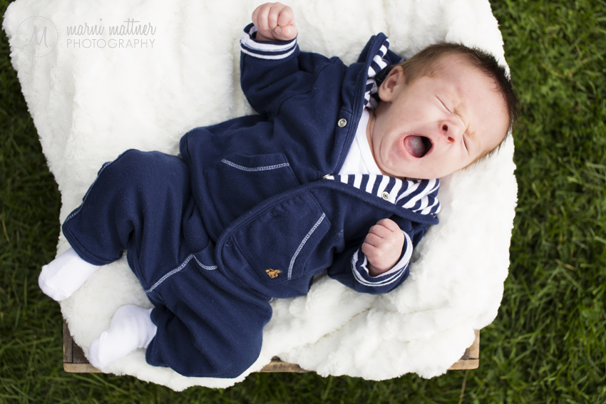 Baby Photos of Benjamin at Denver, Colorado's Wash Park © Marni Mattner Photography