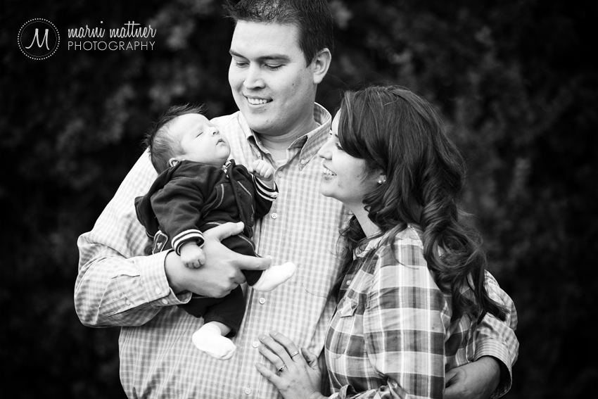 Denver, Colorado's Wash Park Family Photos of Charlie, Jen & Benjamin © Marni Mattner Photography