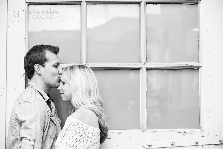 Downtown Denver Engagement Photos of Brook &amp; Eric  Marni Mattner Photography