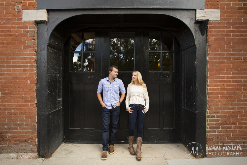 Denver, Colorado Engagement Photos of Eric & Brook © Marni Mattner Photography