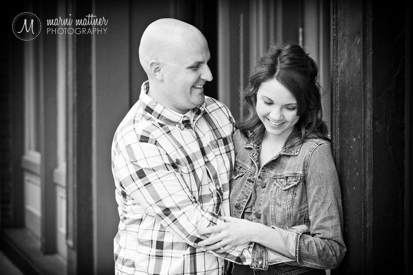 Jason &amp; Megan's Downtown Denver Engagement Photos  Marni Mattner Photography
