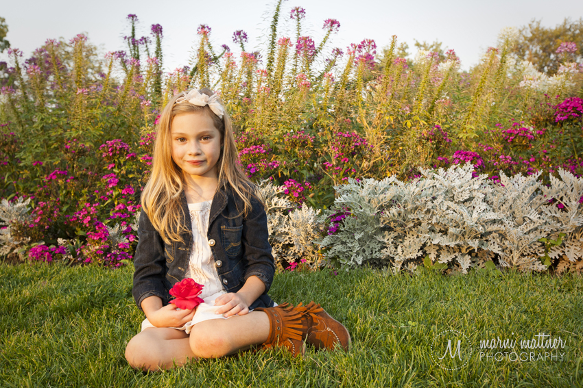 Sweet Ilyn's Portrait in Washington Park  Marni Mattner Photography