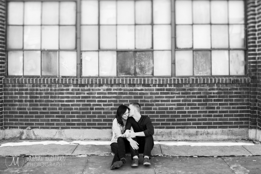 Monica & Daren's Engagement Photos in RiNo, Denver, CO © Marni Mattner Photography