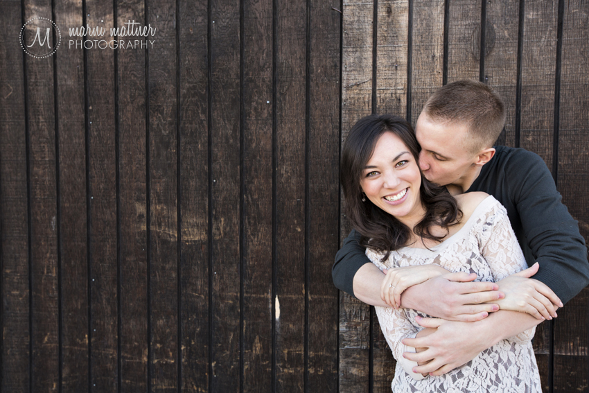River North (RiNo) District Engagement Photos © Marni Mattner Photography