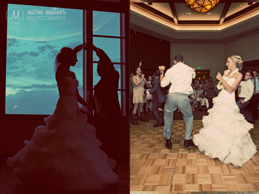 Wedding Dance-off Featuring Bride & Groom © Marni Mattner Photography
