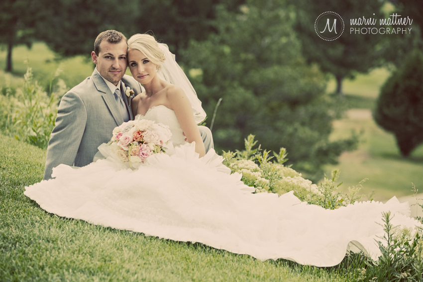 Eric and Brook's Golden, Colorado wedding at Rolling Hills Country Club © Marni Mattner Photography