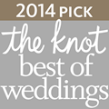 2014 Pick for The Knot Best of Weddings