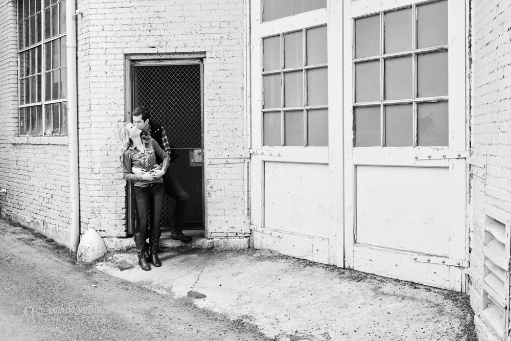 Downtown Denver engagement photos of Nicole & Britton © Marni Mattner Photography