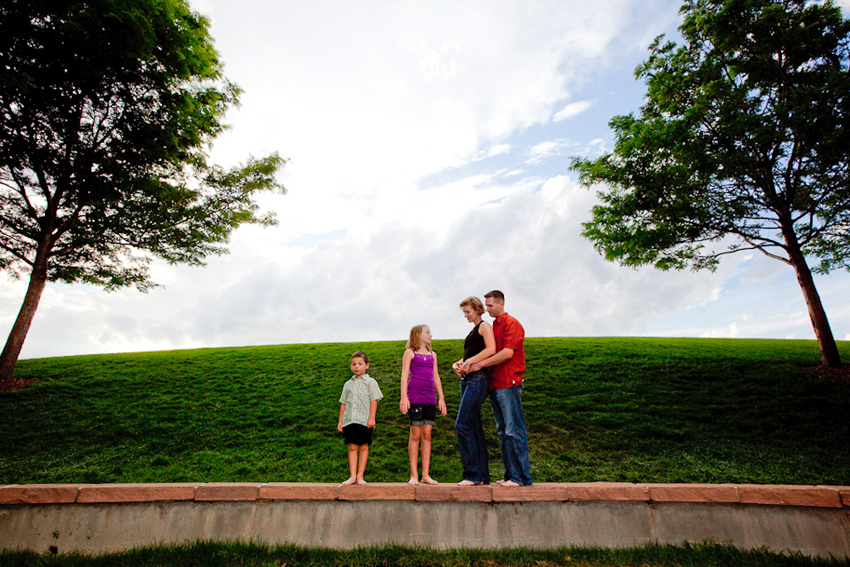 Bobby, Lauren, India & Chad in Denver Park© Marni Mattner Photography