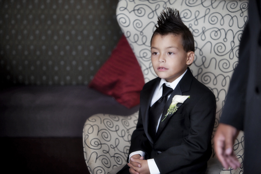 Ring Bearer at JW Marriott Wedding in Cherry Creek © Marni Mattner Photography