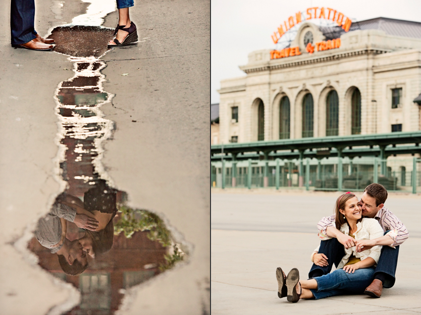 Dan & Chels Engagement Photography Union Station © Marni Mattner Photography