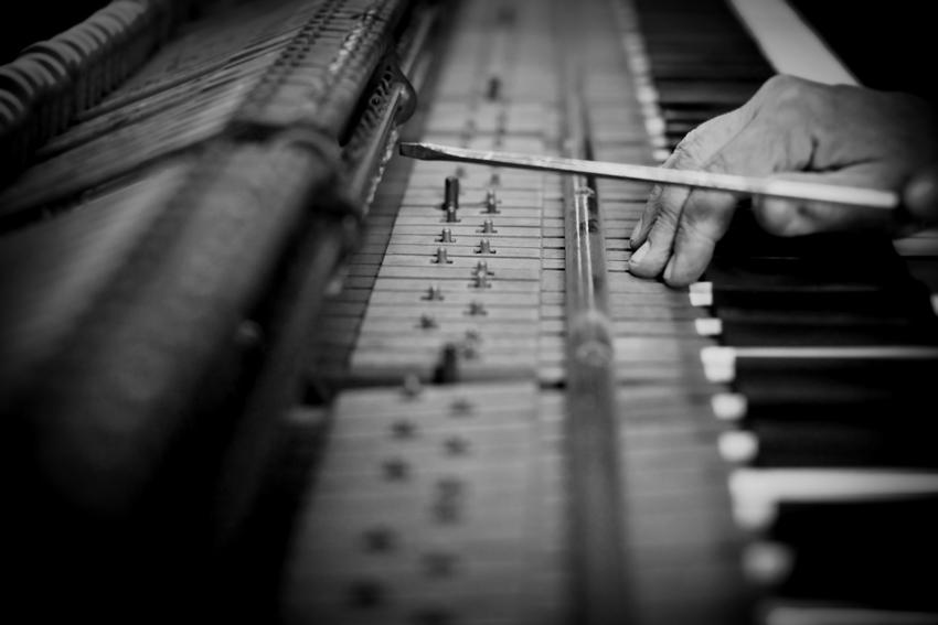 Piano Restoration in Denver, CO © Marni Mattner Photography