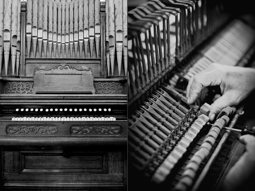 Vintage Piano Restoration Organ and Piano Photography © Marni Mattner