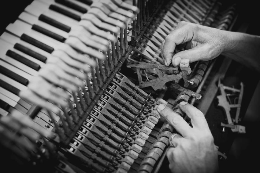 Custom Piano Restoration from Everything Music © Mattner Photography