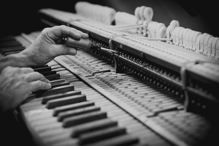 Custom Piano Restoration by American Classic Piano Company © Mattner Photography