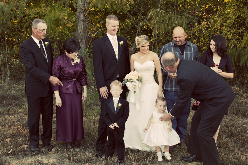 Bride's Family Portraits in Nashville, TN © Marni Mattner Photography