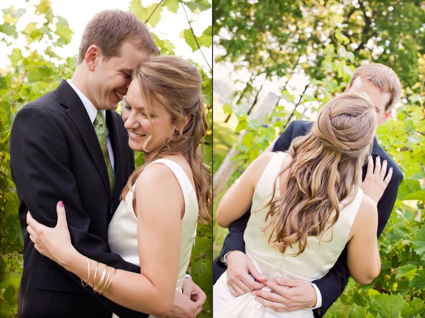 Jon and Michelle's Winery Wedding Photography © Marni Mattner