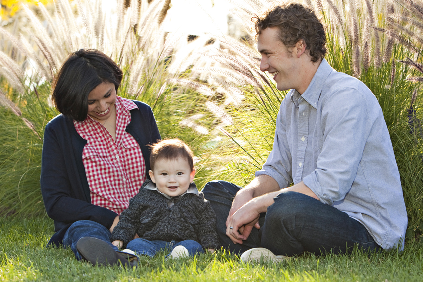 Jeanne, Max and Jayme's Family Photos in Washington Park © Marni Mattner Photography