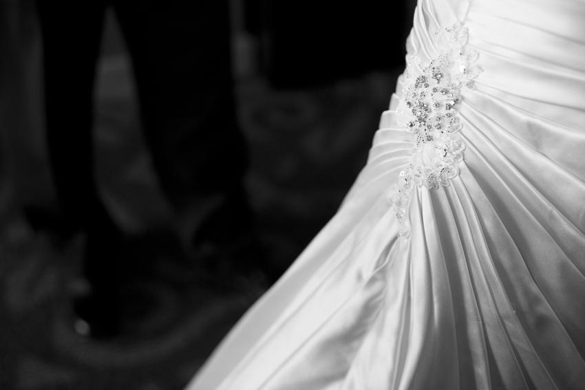 Jenae's Wedding Dress Beading © Marni Mattner Photography